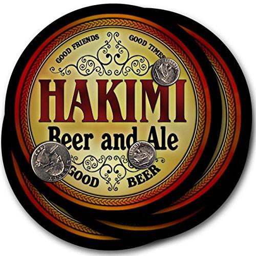 Hakimiビール& Ale – 4パックドリンクコースター   B003QXIWQM