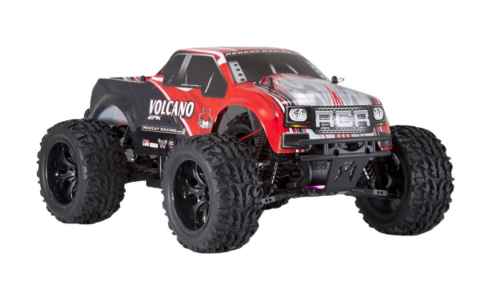 Redcat Racing Electric Volcano EPX Truck with 2.4GHz Radio,Vehicle Battery and Charger Included (1/10 Scale), Red by Redcat Racing (Image #2)