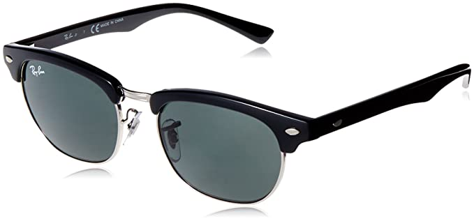 882af61cad Amazon.com  Ray-Ban Kids  0rj9050s100 7147junior Clubmaster Square ...