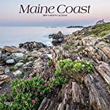 Maine Coast 2019 12 x 12 Inch Monthly Square Wall Calendar, USA United States of America Northeast State Ocean Sea Nature