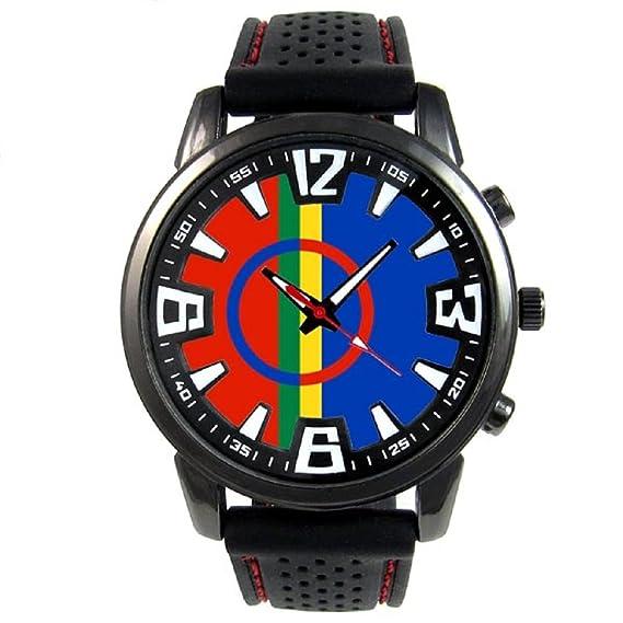 Sami Sami Reloj para hombre con correa de silicona: Timest: Amazon.es: Relojes