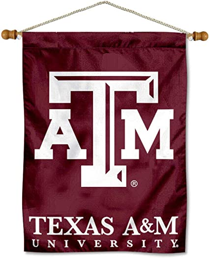 Texas A/&M Aggies Black Matted Mylar Framed Logo Wall Hanging