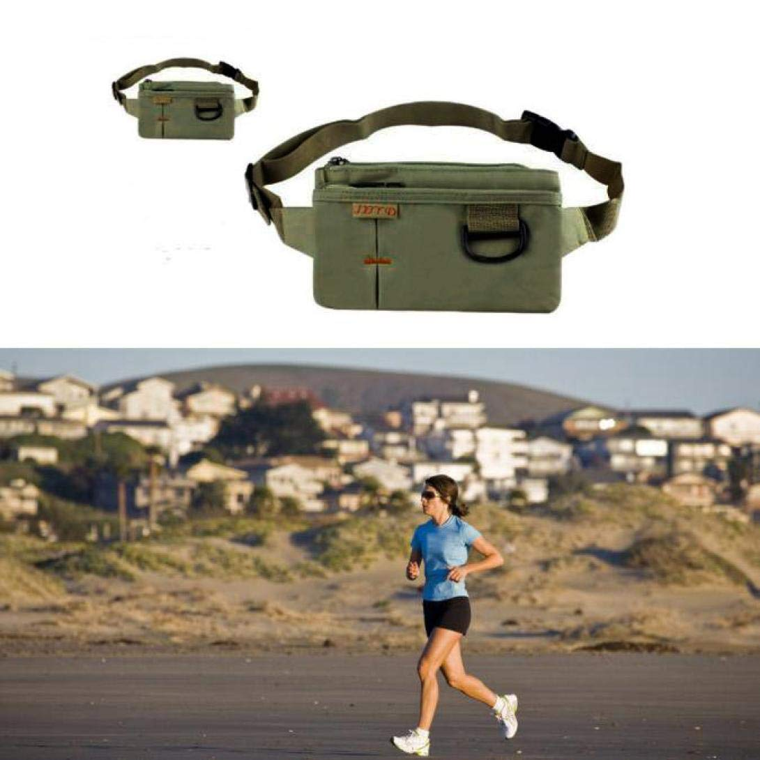 Black Quaanti Outdoor Tactical Travel Several Slots New Noble Waist Bag Fanny Pack Travel Outdoor Hiking Cycling Climbing Bag