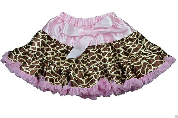 Unbekannt - Falda - enaguas - para niña rosa/marrón 98 cm-110 cm ...