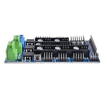 Amazon.com: BIQU impresora 3d rampas 1.6 driver board para ...