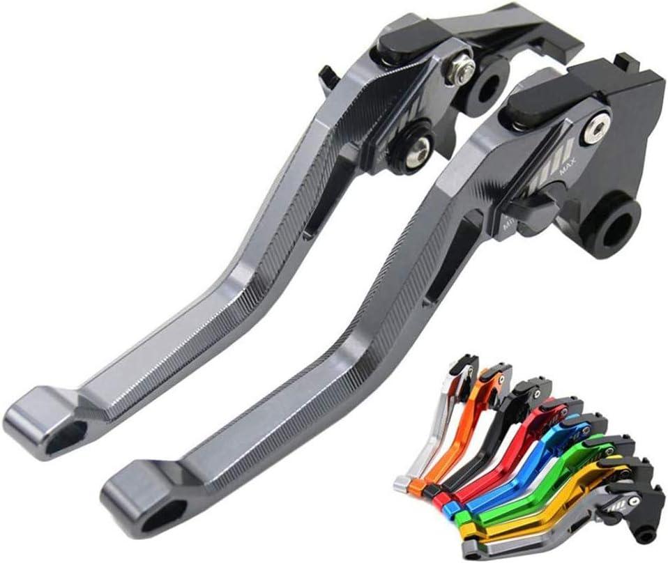 1 Paio Leve Frizione Regolazione CNC compatibili con Yamaha TMAX 500 2010-2011 TMAX 530 2012-2016,Blu CZSM Leva Frizione Freno