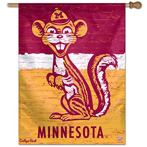 "Minnesota Golden Gophers Official NCAA 27""x27"" Banner Flag by Wincraft"