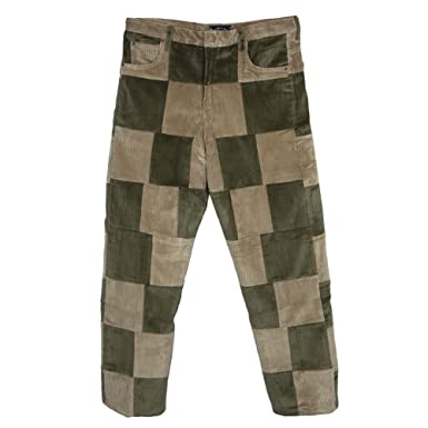 Amazon.com: Old Glory - Corduroy Patchwork Pants - Mens: Clothing