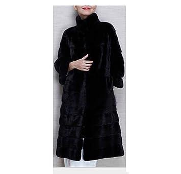Frauen Damen Winter Warmen Dicken Mantel Lange Flauschige