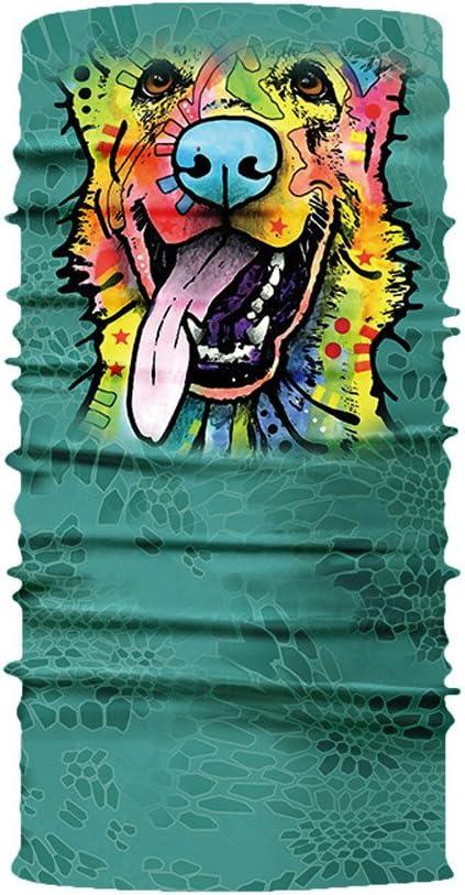 Zilosconcy Schlauchschal Multifunktionstuch Bandana Atmungsaktiv Motorrad Halstuch Lustig Animal Print Mundschutz Sonnenschutz f/ür Herren Damen Outdoor Schal Radfahren Laufen M