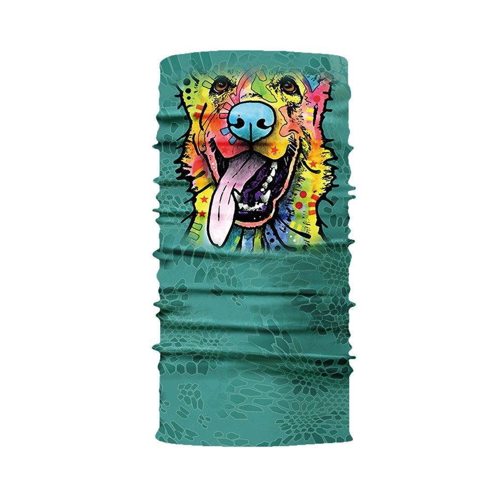 YoYoly 3D Animal Print Outdoor Windproof Balaclava, Head Scarf Neck Warmer