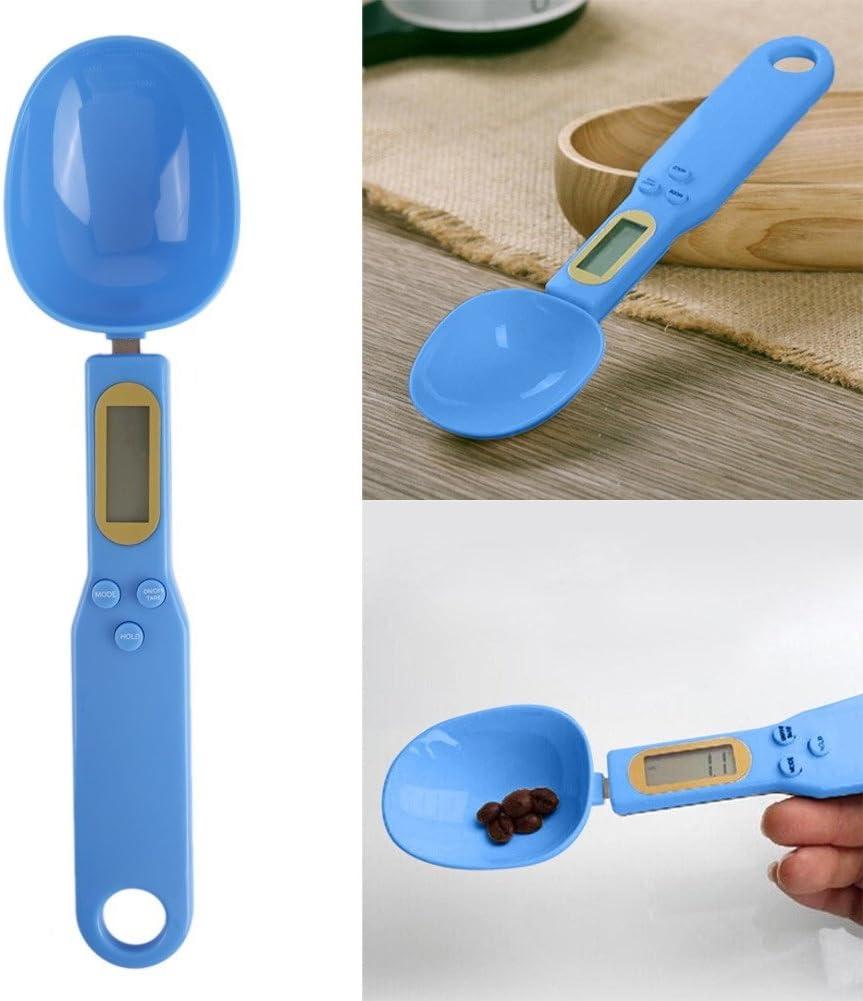 zhouba Tragbare elektronische Messl/öffel Digital Ma/ßstab Gewicht Home Kitchen Supplies Einheitsgr/ö/ße blau