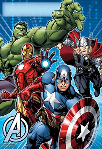 Marvel Avengers Treat Bags (8-Pack), Party Supplies - Thor Treat Bag
