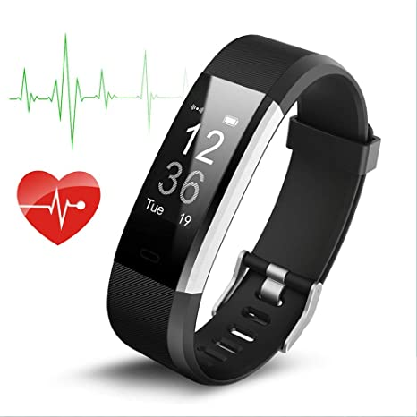 Geelyda Fitness Tracker with Heart Rate Monitor and Sleep Monitor Activity  Tracker Smart Bracelet with IP67 Waterproof Sport Pedometer Watch for Kids