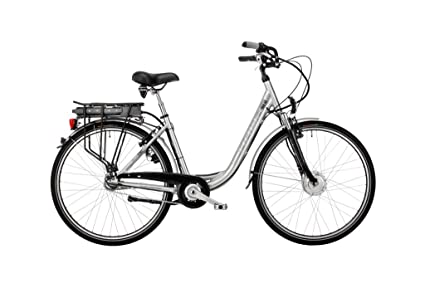 Hawk Bikes Green City Plus Wave E Bike Electric Bicycle Ladies