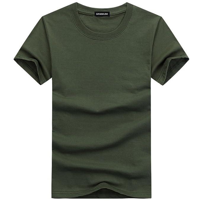 89b4dc30e9d lokp Givanildo 5XL Blank T-Shirt Men T Shirt Short Sleeve Tshirts Solid  Cotton Homme