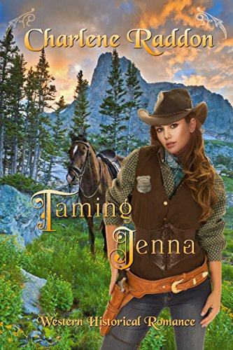 Taming Jenna: Sensuous Western Historical Romance cover