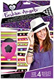 Best Monster High Friend Phone Stickers - Fashion Angels Studded Wrap Bracelet Craft Kit-Makes 4 Review