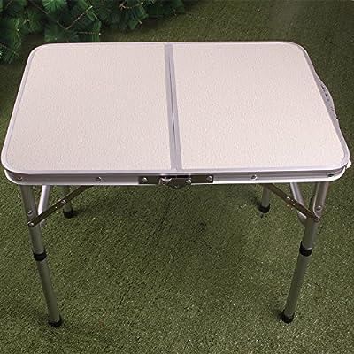 Xing Lin Table D'Extérieur Petit Dortoir En Plein Air Multifonctions Table De Pique-Nique Pliante En Aluminium 64*43*56Cm Jambe Plus Simple Lit Mobilier De Repos