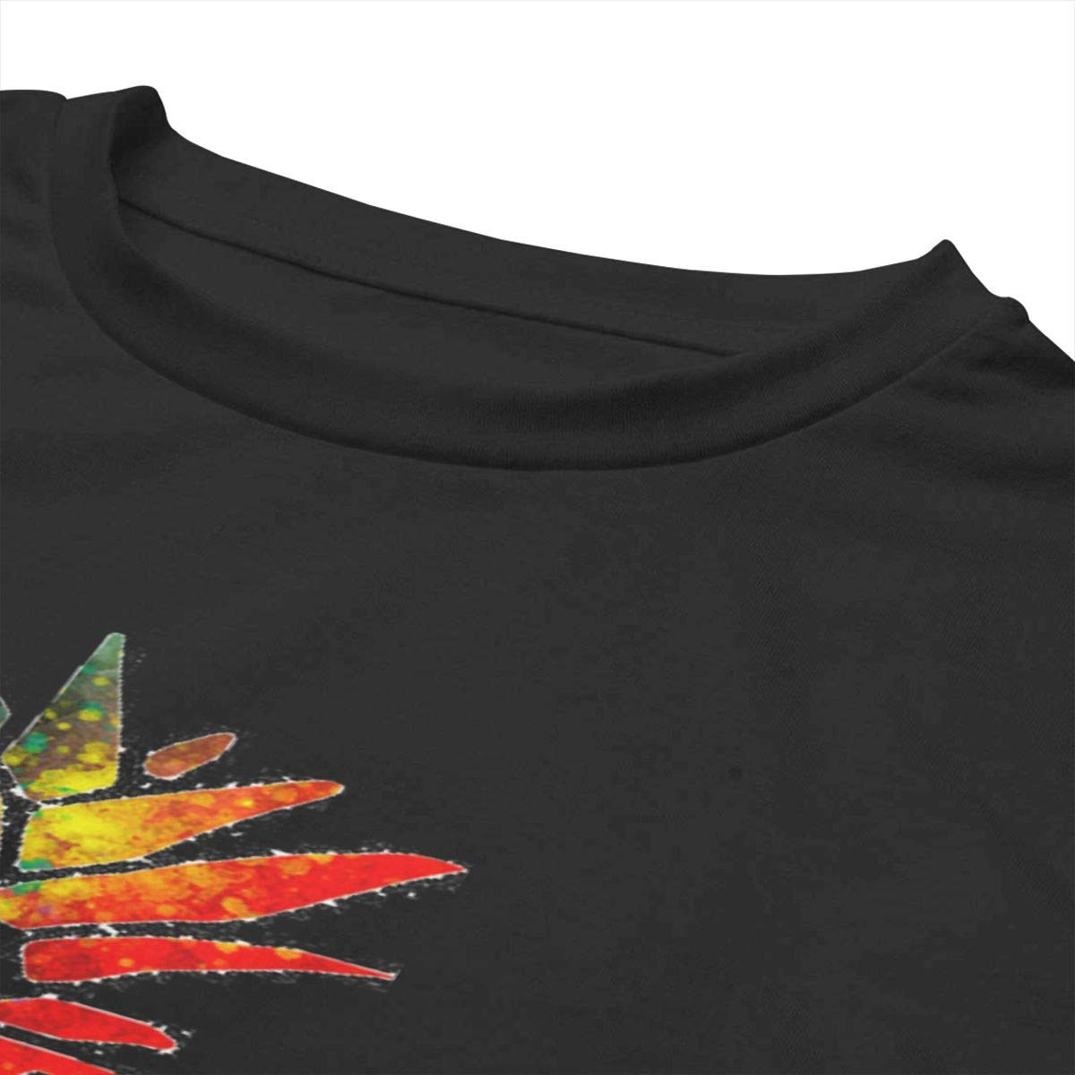 Colorful Pineapple T-Shirt Womens Crop Tops Short Sleeve Tshirts Activewear Exercise Crop Tops