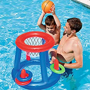 Amazon.com: Jiazhounengy - Cesta inflable para piscina, 1 ...