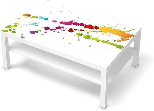 creatisto Möbel Tattoo passend für IKEA Lack Tisch 118x78 cm I Möbelsticker Möbel Sticker Aufkleber Folie I Innendekoration für Esszimmer,