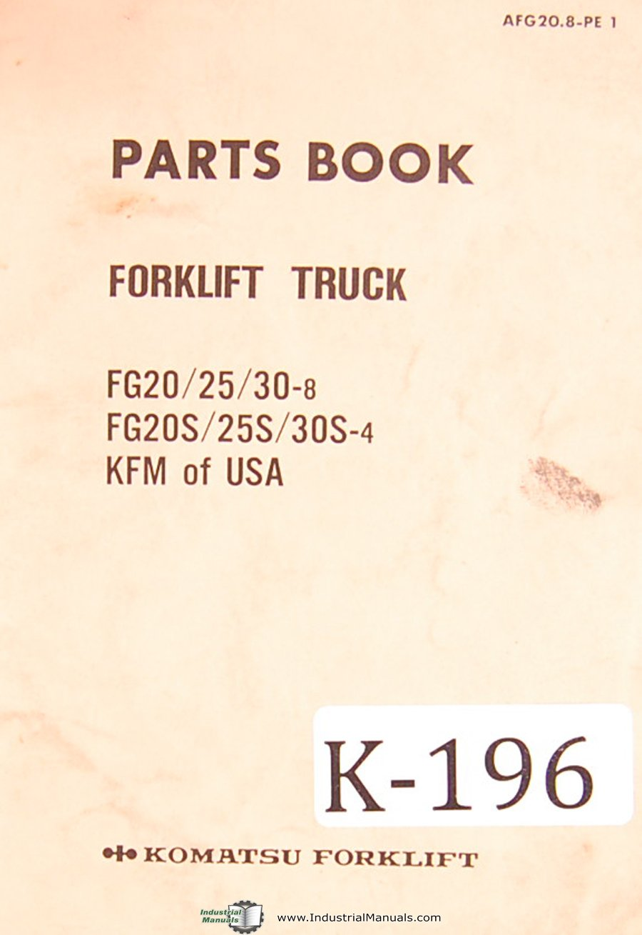 Halla Forklift Wiring Diagram Simple Options Clark Starter Komatsu Fg20 25 30 8 Fg20s 25s 30s 4 Kfm Of Usa Parts