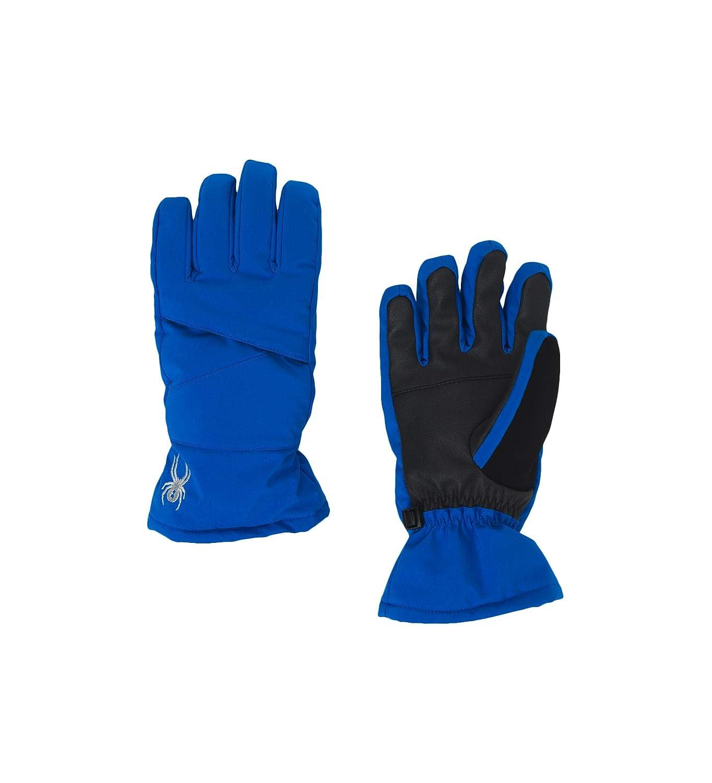 Spyder Girls Astrid Ski Glove Turkish Sea//Black Small
