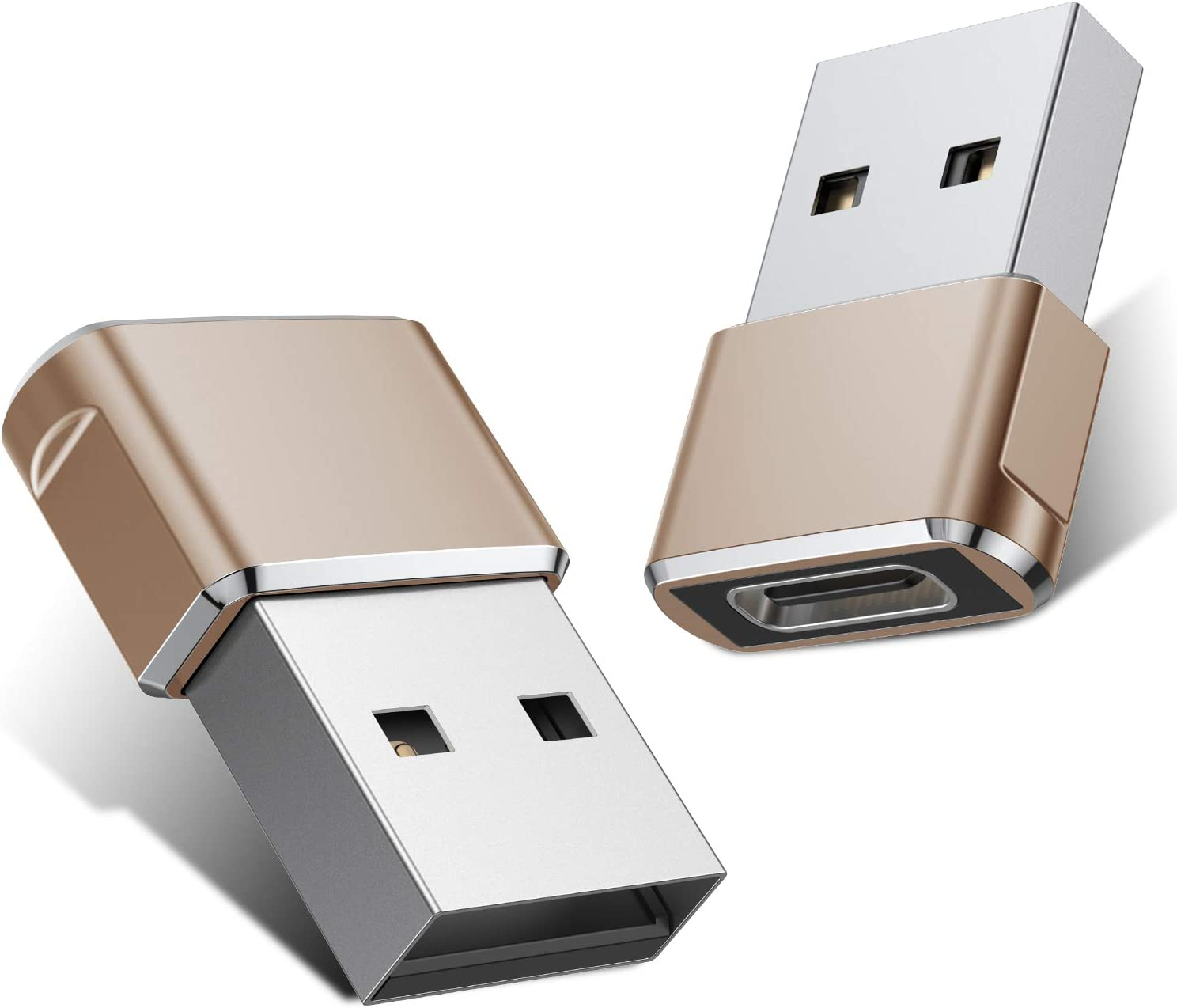 Basesailor 2 Pack USB C Female to USB Male Adapter $7.21