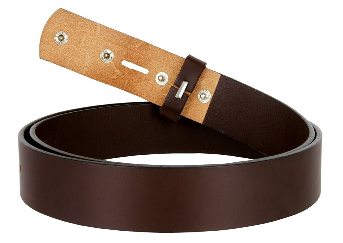 1-1//4 Wide Leather Cowhide Belt Blank Strap Made in the USA