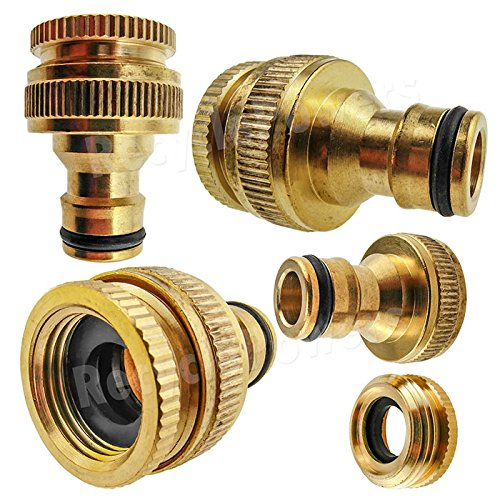 InnoLife Brass Male Quick Release Connector To Female Ght 3/4\