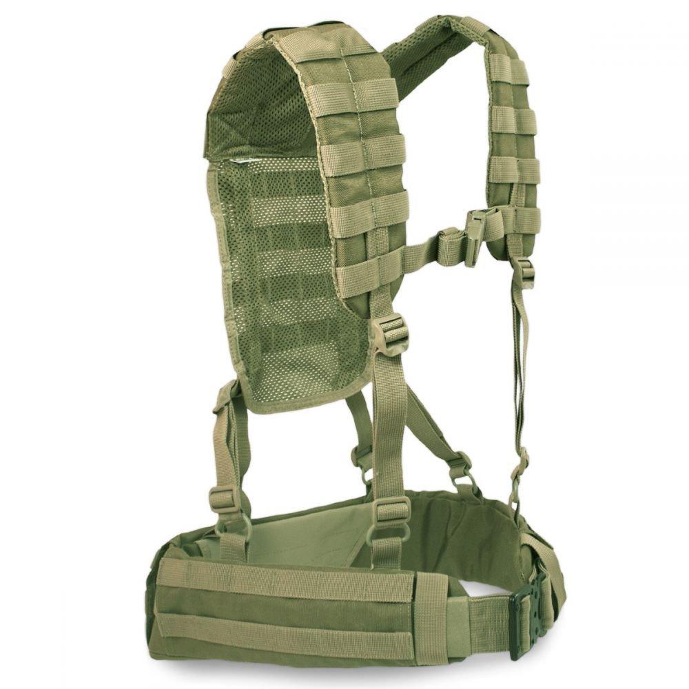 Bulldog Tactical - Arnés militar con amarres MK2 Molle, verde ...