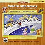 Music For Little Mozarts 2-Cd Sets For Lesson and Discovery Books: A Piano Course to Bring Out the Music in Every Young Child (Level 1), 2 Cds