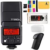 GODOX TT350F 2.4G HSS 1/8000s TTL GN36 Camera Flash Speedlite for Fuji X-Pro2 X-T20 X-T2 X-Prol X-T10 X-El X-A3 X100T ect. Digital Camera