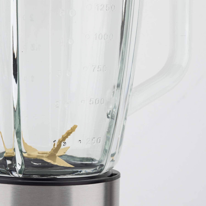 H.Koenig 3-1 Standmixer MXK32 Glas 1500 milliliters Silber
