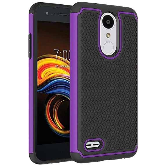 meet c3d5a b654f LG Aristo 3 Case, LG Tribute Empire Case, LG Tribute Dynasty Case, LG Zone  4/Aristo 2/Fortune 2/Risio 3/K8+ Plus Phone Case, OEAGO [Shockproof] Hybrid  ...