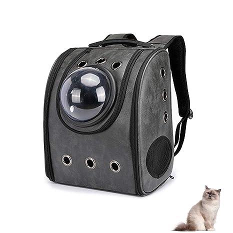 Hianiquaime® Mochila para Perro Respirable Portador Perro Mochila Bolso Portabebé Carrier para Gato Perro Caniche