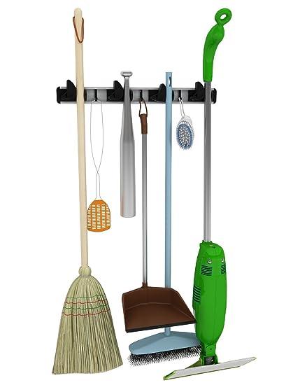 Fregona, escoba y herramienta, Color perfecto para su garaje o Basement- herramienta de