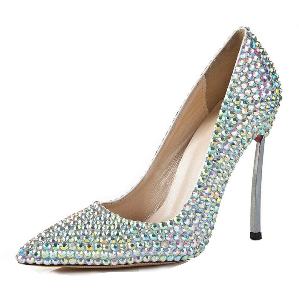 L@YC Frauen High Heel Wies Wies Wies Mode PU Schuhe Stiletto Pumps/Plattform/11cm Ferse  A 40773a