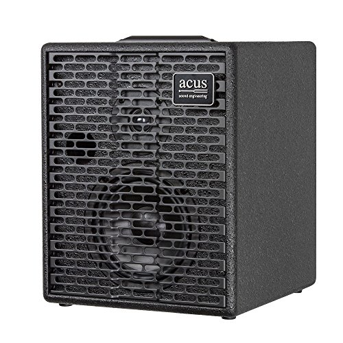 Rivera Acoustic Amps - Acus Sound Engineering 03000604 OneforStrings 6T Acoustic Guitar Amplifier - Black