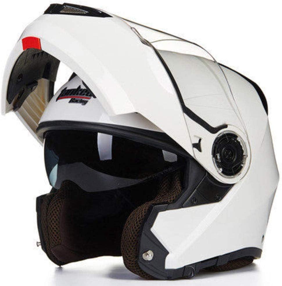 Ra Helmet Anti-Visor Niebla Flip Up Casco De La Moto Casco De Motocross para Adultos Casco De Moto De Carreras