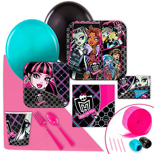 BirthdayExpress Monster High Value Party Pack