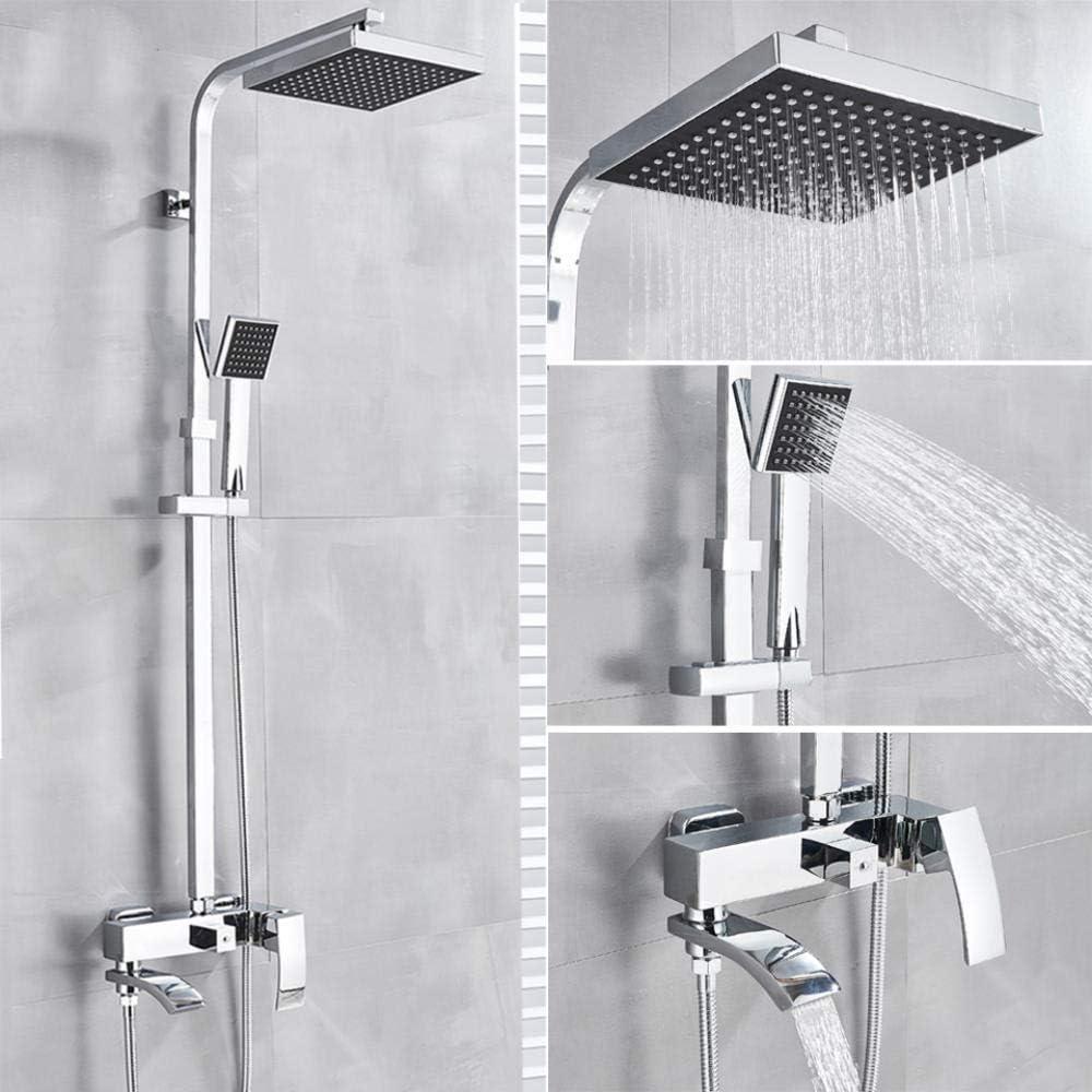 Shower Tap 20cm Rain Shower Head Rain Shower Set Shower System Mixer Tap
