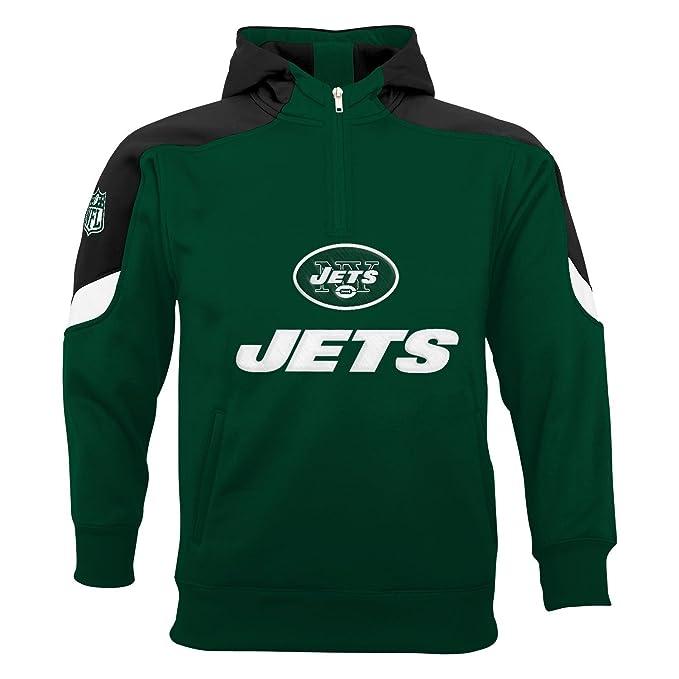 5630ba06 NFL New York Jets 8-20 Youth Kick Off Performance Fleece Hoodie