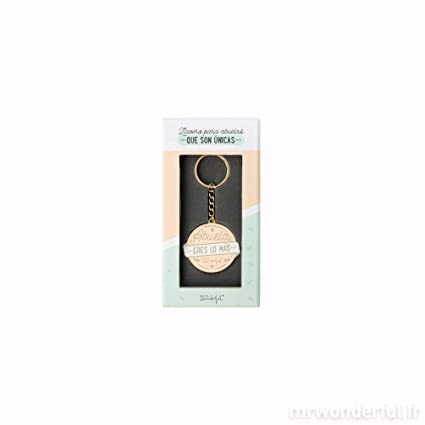 Amazon.com: Mr. Wonderful Grandma Keyring, TU ES LO Plus ...