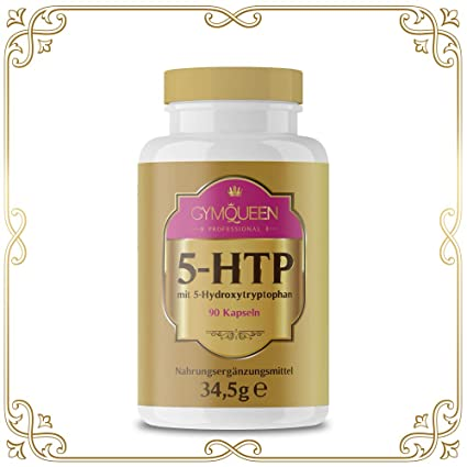 Gymqueen Professional 5-HTP con 200 mg – El hidroxitriptófano puede ayudar a regular el