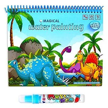 Amazon Aukwingぬりえ 子ども お絵かき 塗り絵 英語学習 知恵玩具