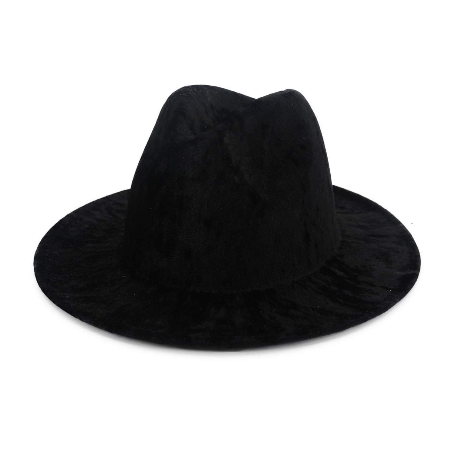 DOSOMI Women Fedora Hat Men Wide Brim Hat Autumn Winter Sombreros Jazz Panama Hats