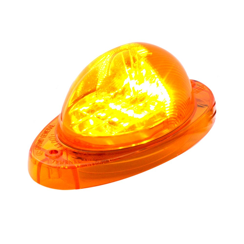 Grand General 76374 Amber Side Marker/Turn Signal LED Light for Freightliner Cascadia by GG Grand General