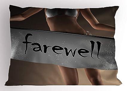 Amazon com : K0k2t0 Going Away Party Pillow Sham, Sexy